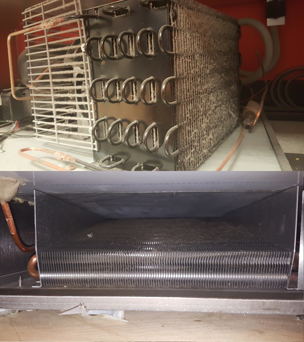 How To Clean Bathroom Wall Stains: How To Clean A Commercial Refrigerator Condenser Coil