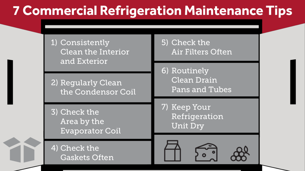 Commercial Refrigeration Maintenance Tips