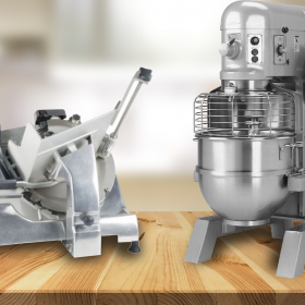 Lubricating a Hobart Slicer and Mixer