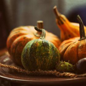 Fall Restaurant Menu Ideas and Flavors - Pumpkin Centerpiece