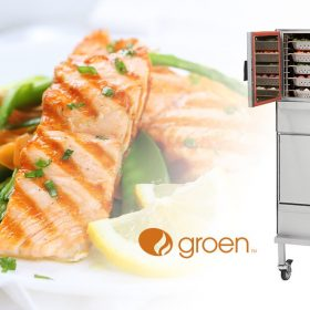 Groen Steamer Troubleshooting-Food and Logo