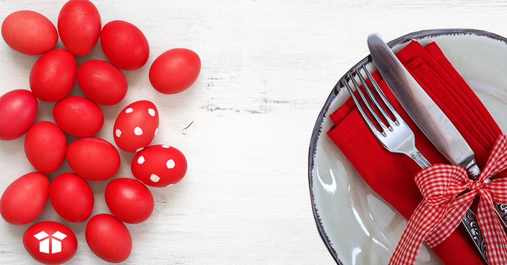Easter Restaurant Promotions-PT Easter Table Setting
