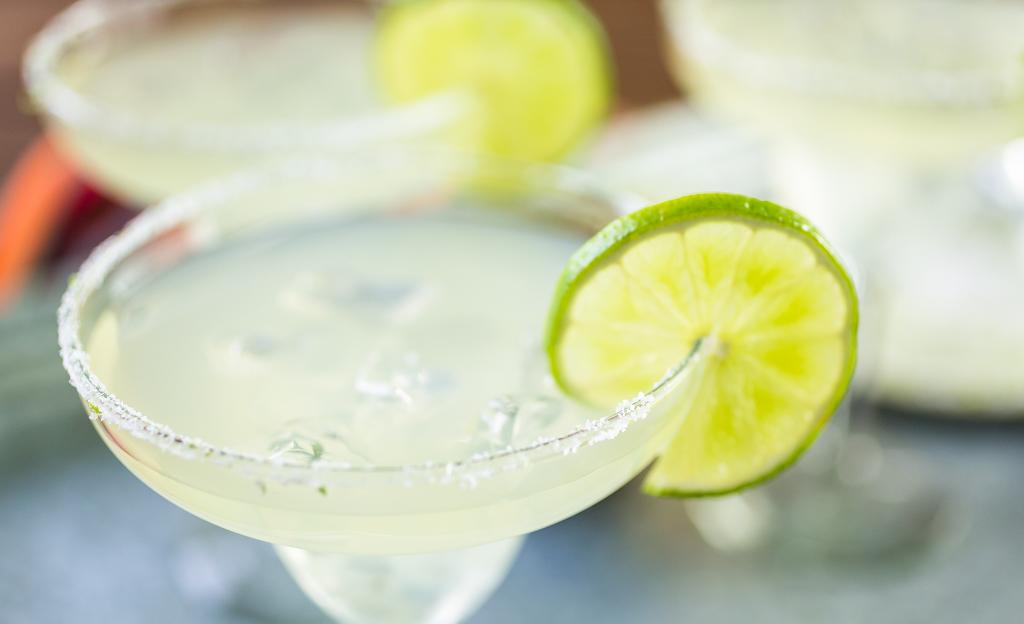 Margarita with Lime-Cinco de Mayo Restaurant
