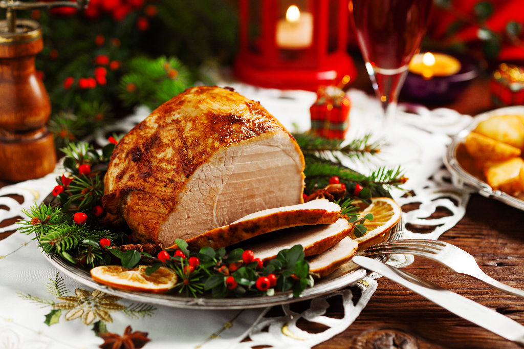 Christmas Baked Ham-Holiday Menu Ideas for Your Restaurant
