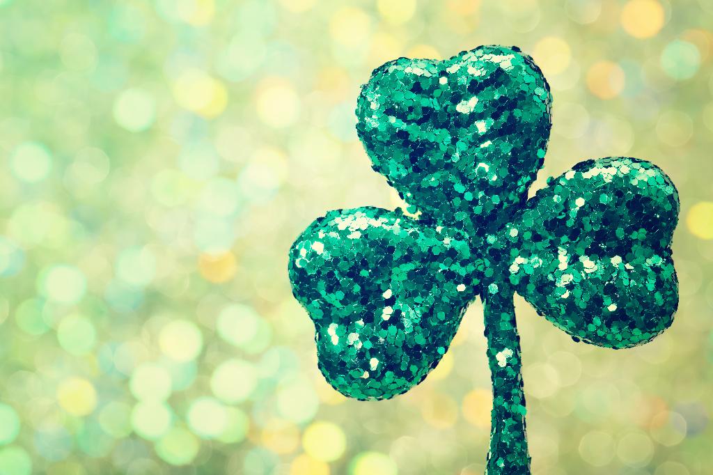 Glittery Shamrock Ornament-6 St. Patrick's Day Restaurant Promotions & Menu Ideas