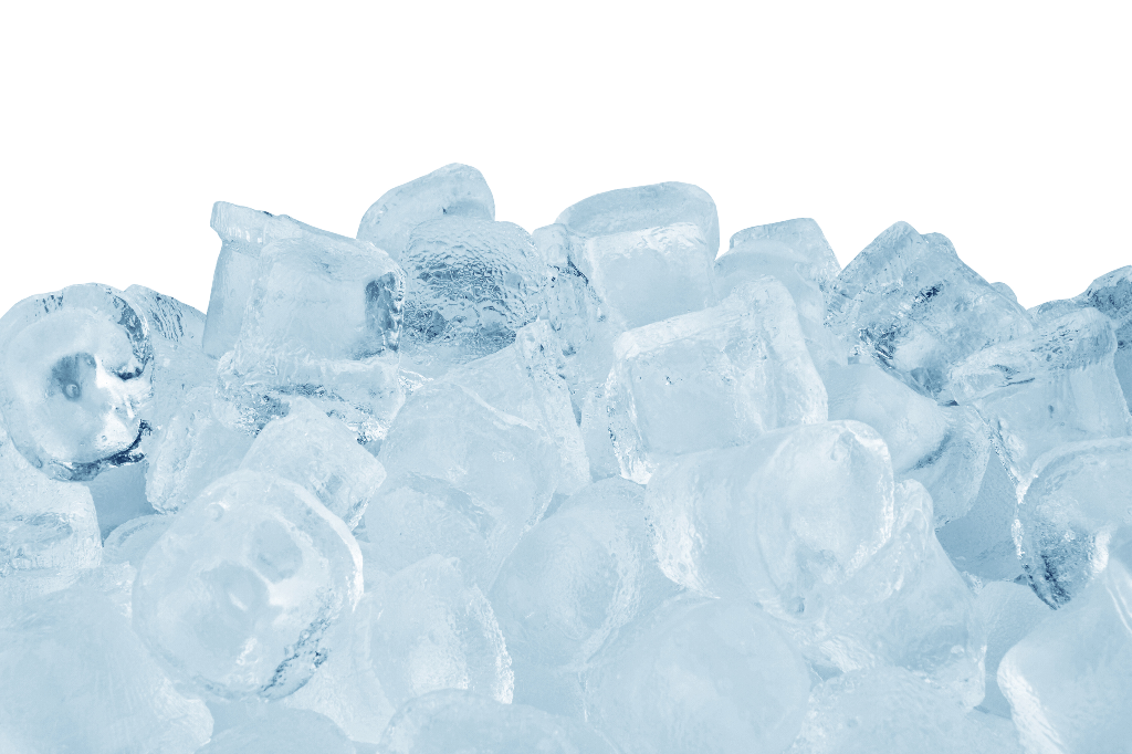 Pile of Ice with White Background-Types of Ice Machines: Buying Guide