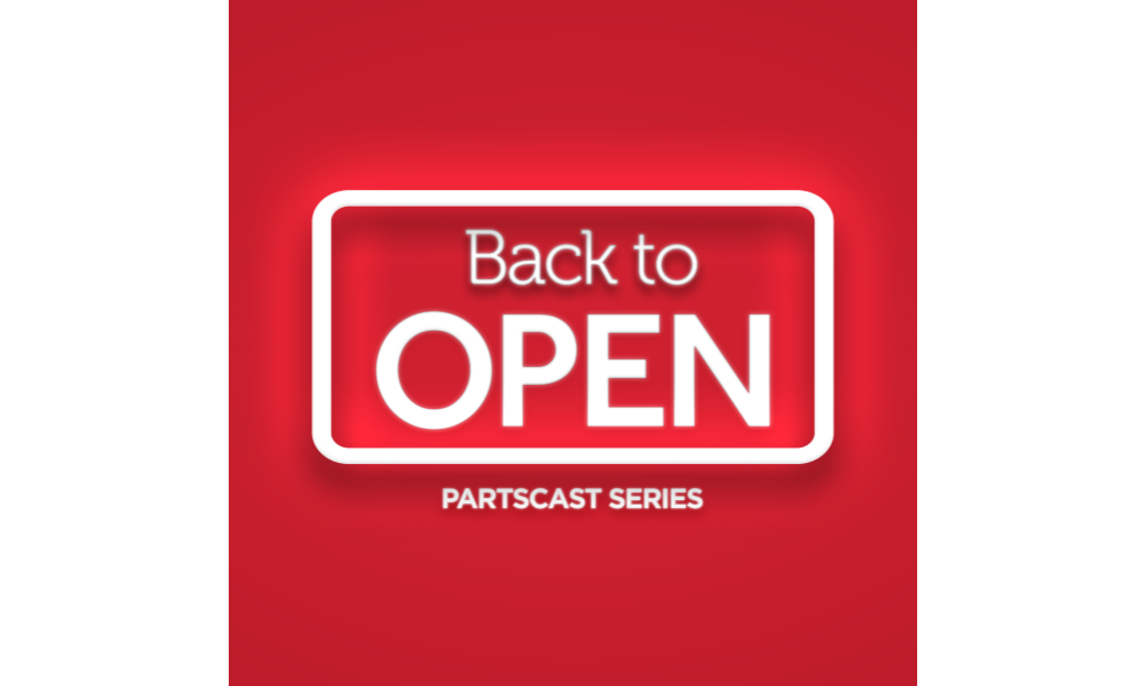 PartsCast-Back to Open-Logo