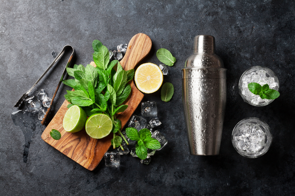 Mojito Ingredients on Counter-To-Go Cocktail Tips and Tricks: A Quick Guide