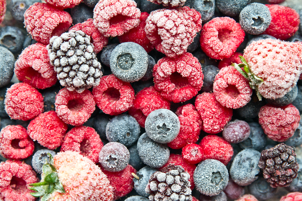 Frozen Berries-Blast Chillers vs. Freezers