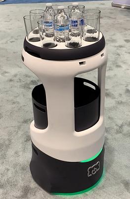 Bear Robotics Penny Foodservice Robot-Restaurant Trends for 2021