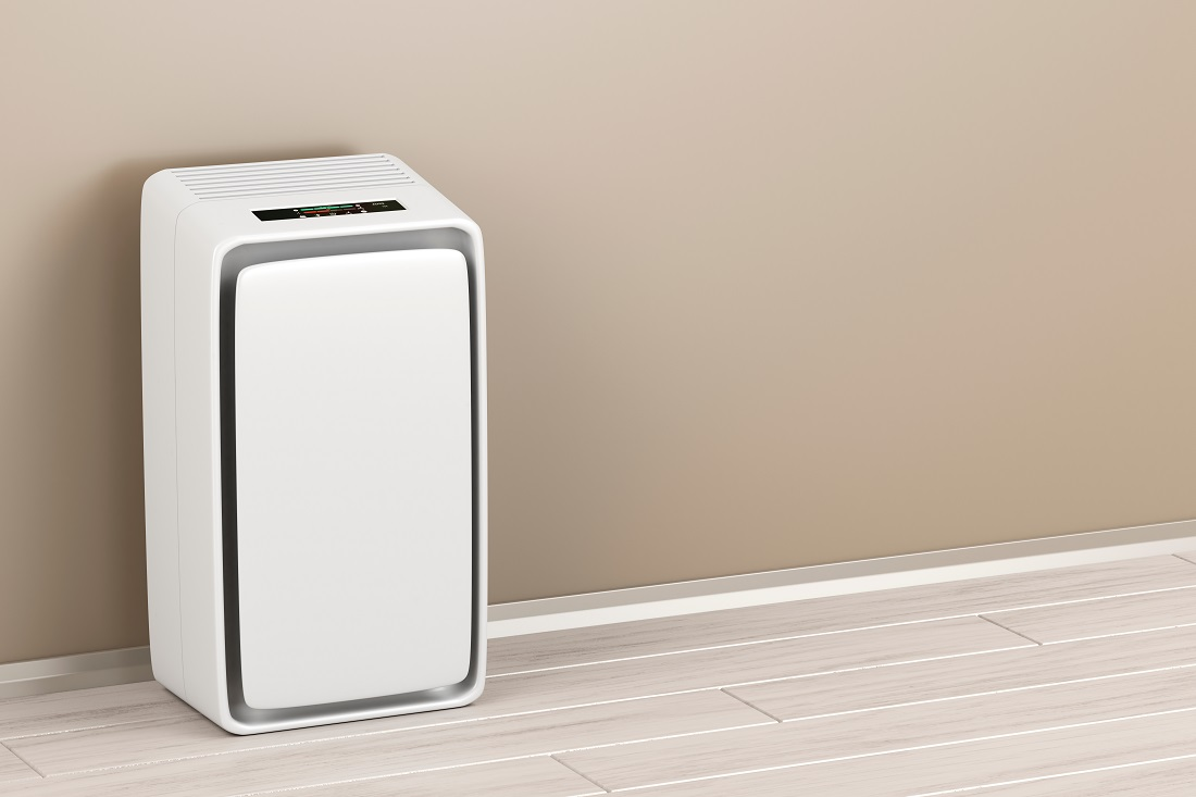 Air Purifier in Large Room