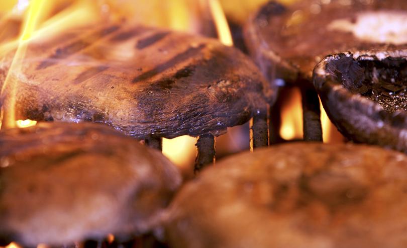 Vegan Restaurant Menu Ideas-Grilled Portabella Mushrooms