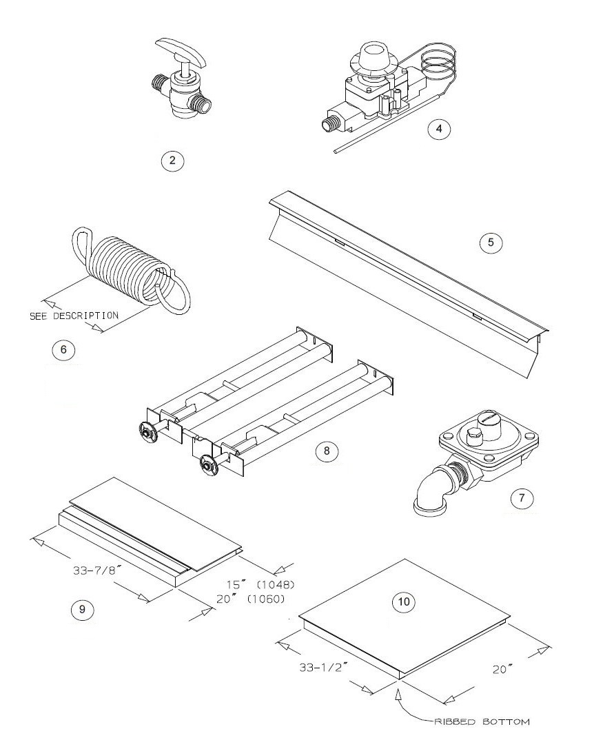 Blodgett 1048 Parts Diagram Town Drawer Assy And List For Sharp Microwaveparts Model Burner Baking Components