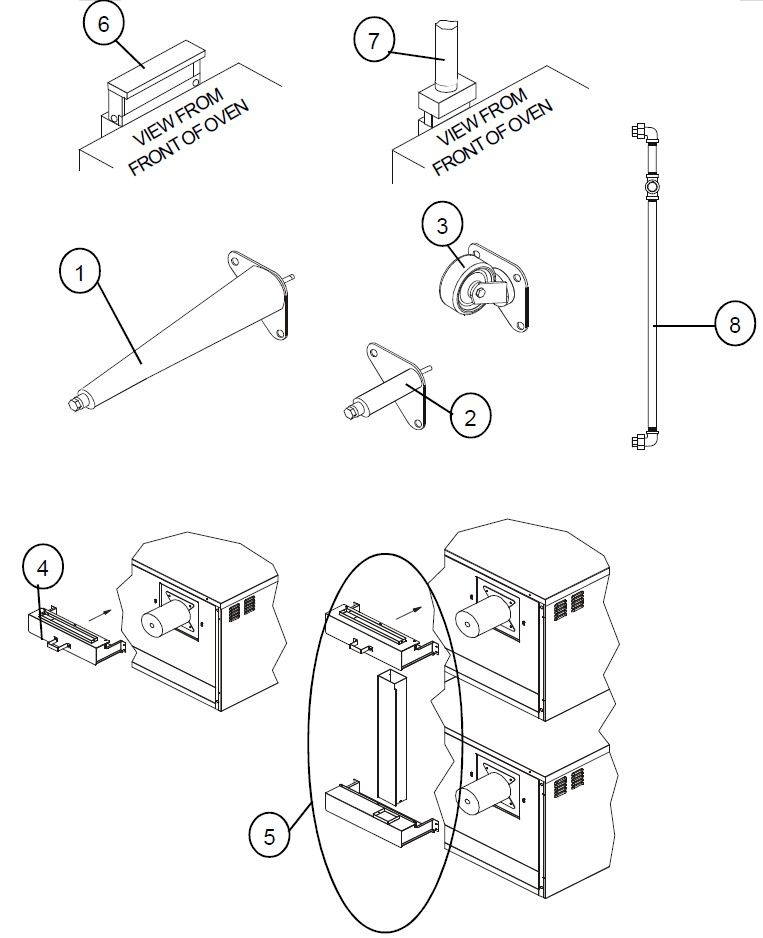 Blodgett Sho G Parts Diagram