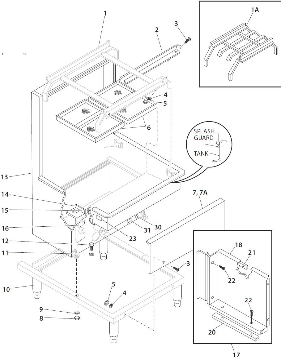 Blakeslee D 8 Parts Diagram Town Drawer Assy And List For Sharp Microwaveparts Model Base Tank Tracks