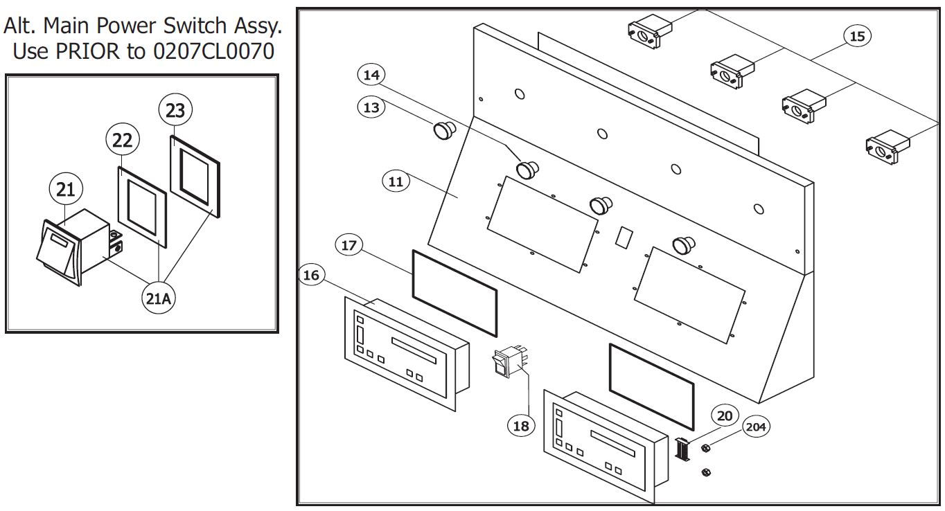 Garland MWE-9501 Parts Diagram | Parts Town on