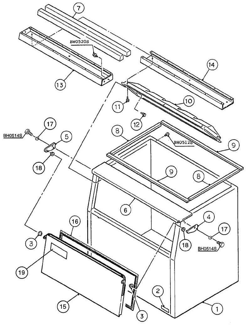 Hoshizaki B 900sd Parts Diagram Town Drawer Assy And List For Sharp Microwaveparts Model Bin Assembly D 1 To F 0