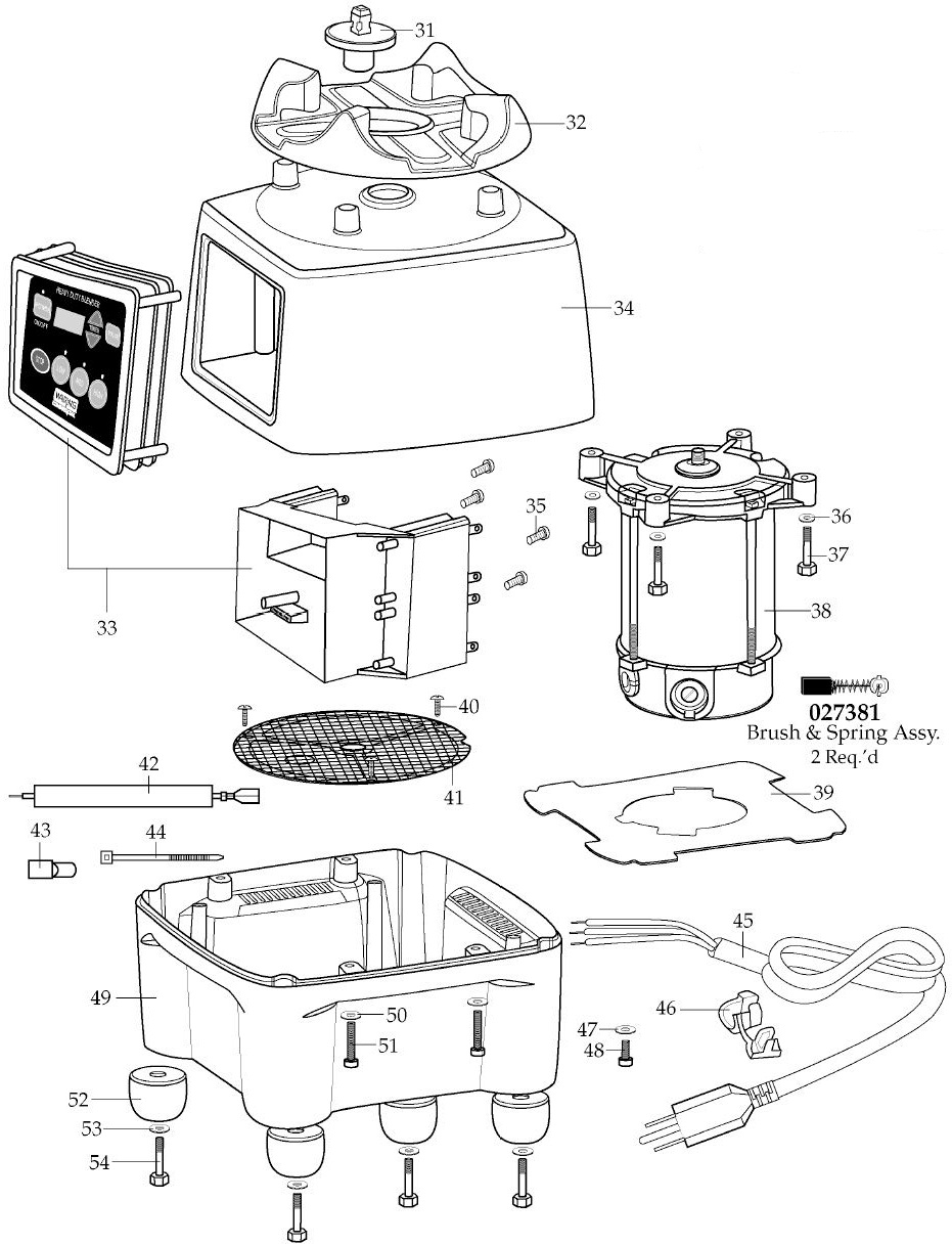 Waring Cb15t Parts Diagram Town Drawer Assy And List For Sharp Microwaveparts Model Base Assembly